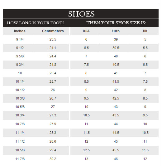 Shoes Mixed Width Sizes